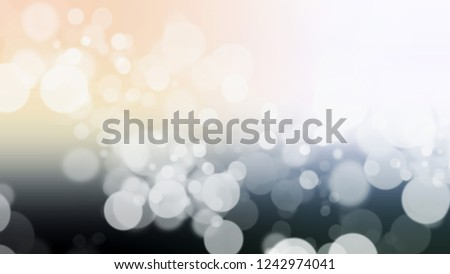Gradient with bokeh effect, sparkle and Light Grey, Half Pearl Lusta color. Clean and awesome blurred backdrop with smooth color transition. Stock fotó ©