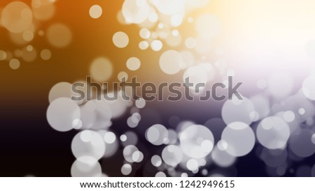 Gradient with bokeh effect, sparkle and Very Light Grey, Half Pearl Lusta color. A very simple abstract background for banner or presentation. Stock fotó ©