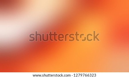 Gradient with Burnt Orange, Sunshade color. Calm and awesome background with uniform smooth texture. Template for banner or brochure.