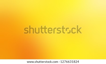 Gradient with Gorse, Yellow, Dark Tangerine, Orange color. Bizarre and bitmap background with uniform smooth texture. Template and wallpaper on the desktop screen. #1276631824
