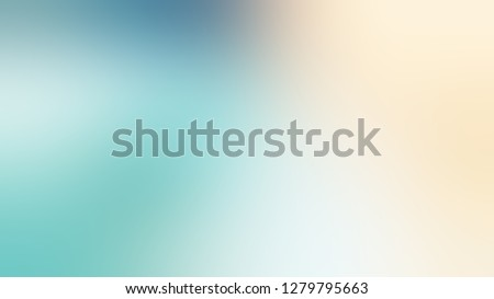 Gradient with Half Pearl Lusta, Grey, Morning Glory, Blue color. Very simple and modern background with color degradation. Model of blurred backdrop for banner or business presentation. Stock fotó ©