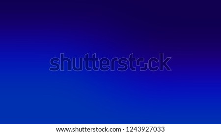 Gradient with International Klein Blue, Midnight color. Raster awesome and simple defocused and blurred backdrop with the transition colors for advertising. Stockfoto ©