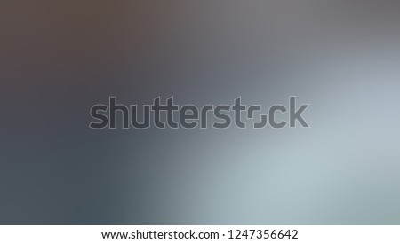 Gradient with Raven, Blue, Trout, Grey color. Ambiguous and foggy blurred background with a smooth transition of colors and shades. The basis for creating a banner or cover.
