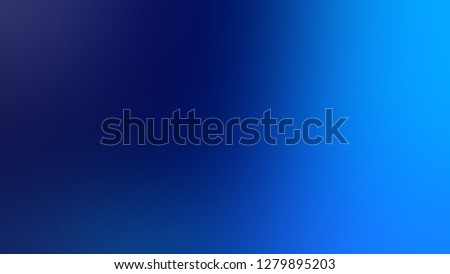 Gradient with Sapphire, Blue, Navy color. Classic and contemporary blurred background with smooth color degradation. Mock-up with blank space for text and advertising.