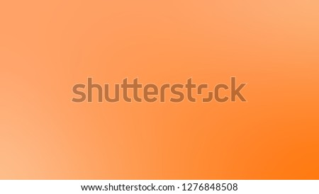 Gradient with Sunshade, Orange color. Calm and awesome blurred backdrop with smooth color degradation. The basis for creating a banner or cover.