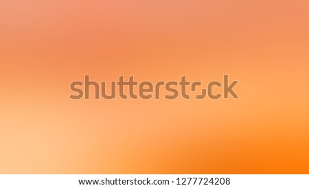 Gradient with Sunshade, Orange, Macaroni And Cheese color. Very simple and modern blurred background with abstract style. Template and wallpaper to the screen of a telephone.