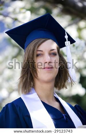 Graduate Portrait - stock photo