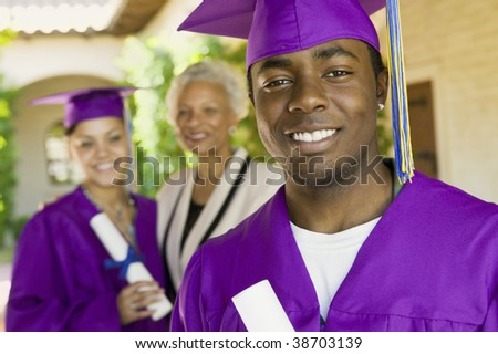 Graduates and Grandmother