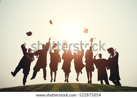 Graduation College School Degree Successful Concept