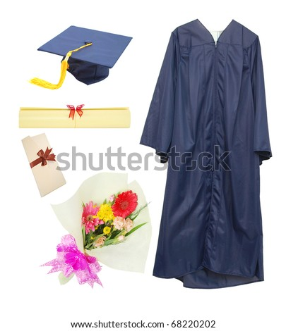 Graduation stuffs in presentation day