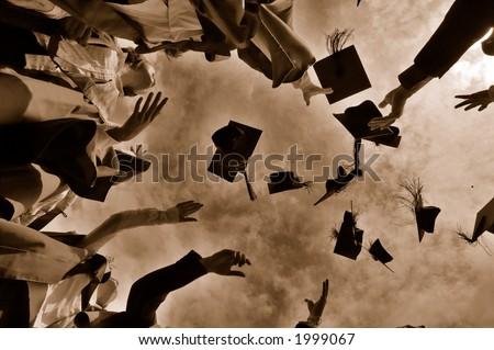 Graduation Throwing Cap