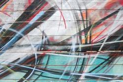 Graffiti background.