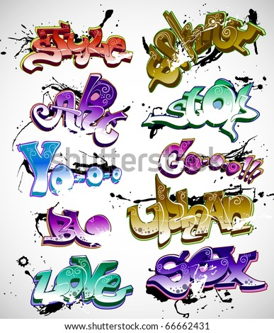 wallpaper graffiti hip hop. Hip-hop design