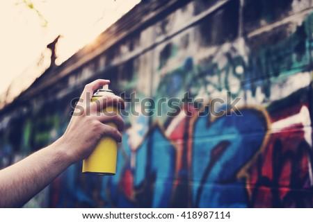Shutterstock Graffiti Street Art Culture Spray Abstract Concept