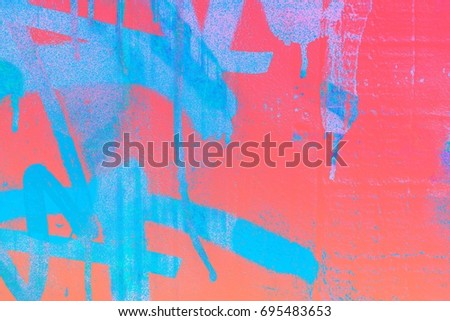 Graffiti, wall, background, with a specific texture, color