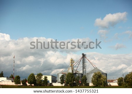 grain dryers plant complex building #1437755321
