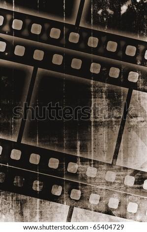 grain old film stripe