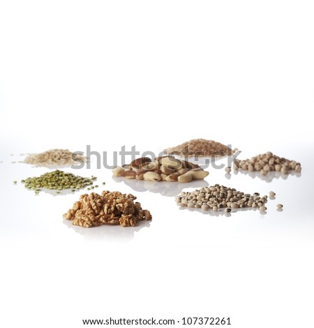 Grains and nuts
