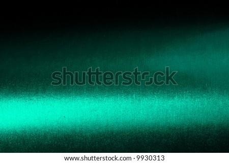 Grainy, shiny, green, metallic texture