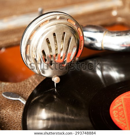 Gramophone Stock fotó ©