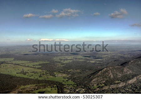 grampians national park lookout in victoria