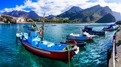 Gran Canaria island- picturesque traditional fishing village La Aldea de san Nicolas