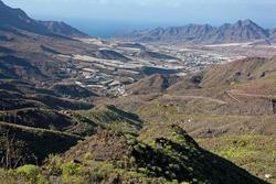 Gran Canaria, view to San Nicolas village