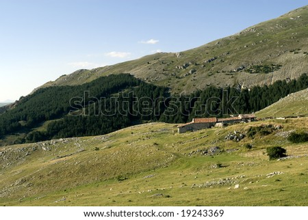 Gran Sasso d'Italia, Road of Vasto (L'Aquila, Abruzzi, Italy) - Mountain landscape at summer
