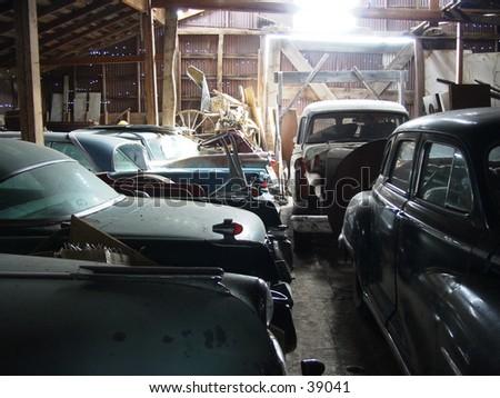 Granaio Storico Dell'Automobile - stock photo