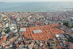 Grand bazaar is one of the largest and oldest covered markets in the world, with 61 covered streets and over 4,000 shops on a total area of 30,700 m2