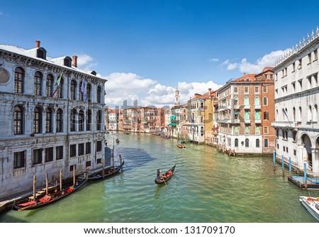 Grand Canal in Venice #131709170