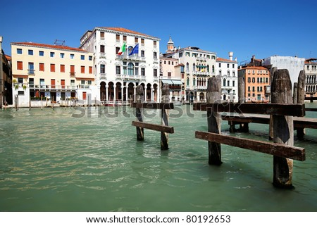 Grand Canal in Venice, Italy #80192653