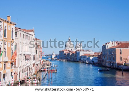 grand canal of venice,italy - stock photo