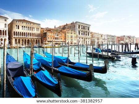 Grand Canal, Venice, Italy #381382957