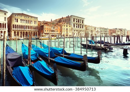Grand Canal, Venice, Italy #384950713