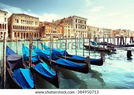 Grand Canal, Venice, Italy #384950713