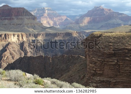Grand Canyon National Park, Arizona/From Rim to Rim/ One of the Wonders of the World as viewed from north, south, east, west and interior in a large assortment of weather conditions.