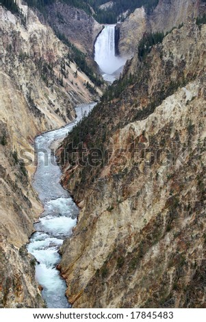 Grand Canyon of the Yellowstone, National Park