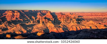 Grand Canyon Panorama, Grand Canyon National Park, Arizona