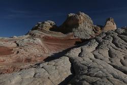 Grand Canyon`s rocky terrain