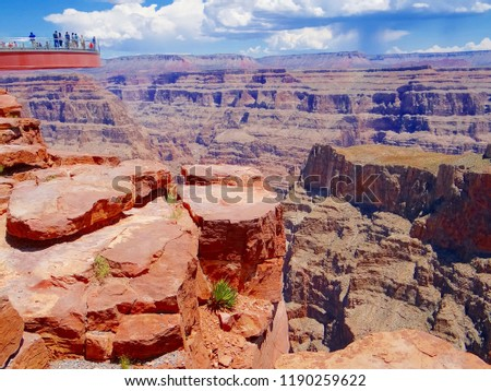 Grand Canyon Skywalk #1190259622