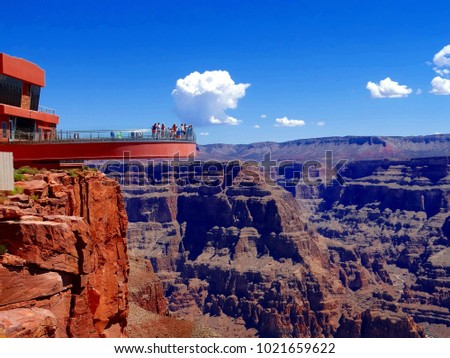 Grand Canyon Skywalk, Hualapai Reservation #1021659622