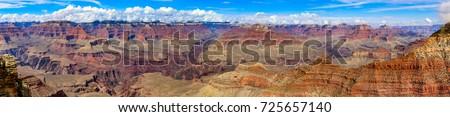 Grand Canyon, South Rim, Arizona, United States of America.