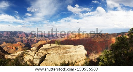 North America landscapes