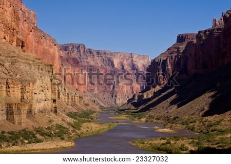 Grand Canyon, View From Nankoweap Granaries, Little Colorado River