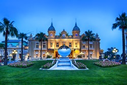 Grand Casino in Monte Carlo, Monaco.