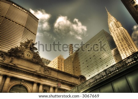 Grand Central Station in New York City - Manhattan - USA