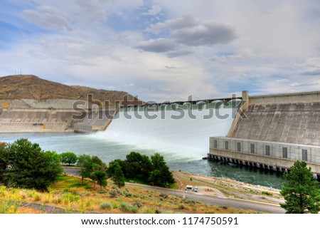 Grand Coulee Dam, WA-USA