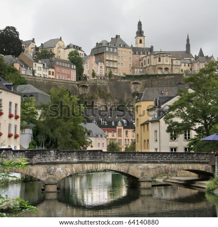 Grand Dutchy of Luxembourg - Alzette river
