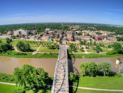 Grand Forks is a Large North Dakota Town on the Red River at the Intersection of Highway 2 and Interstate 29 one Hour south of the Canada Border